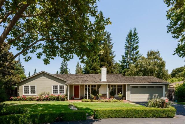 1220 Hermosa Way, Menlo Park, CA 94025 (#ML81673925) :: Brett Jennings Real Estate Experts