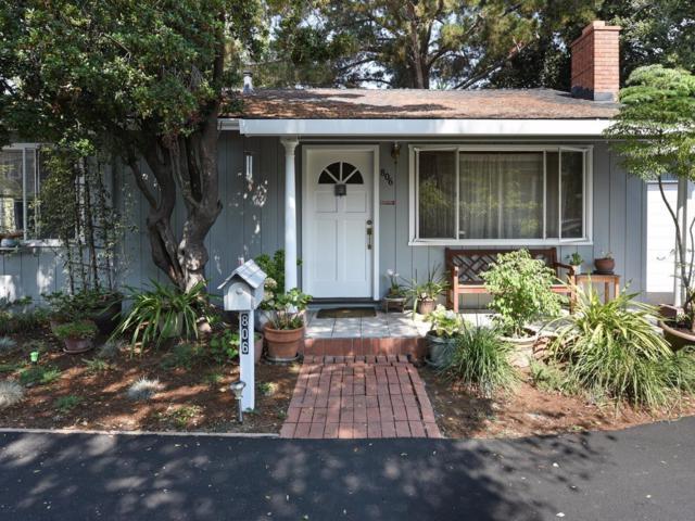 806 Fremont St, Menlo Park, CA 94025 (#ML81673933) :: Brett Jennings Real Estate Experts