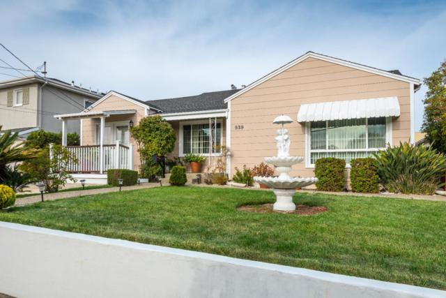 939 Palmito Dr, Millbrae, CA 94030 (#ML81681238) :: The Gilmartin Group