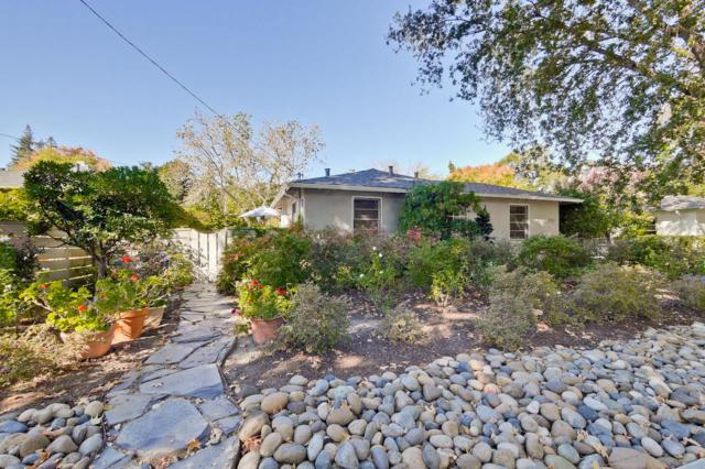 355 Kingsley Ave, Palo Alto, CA 94301 (#ML81684333) :: Carrington Real Estate Services