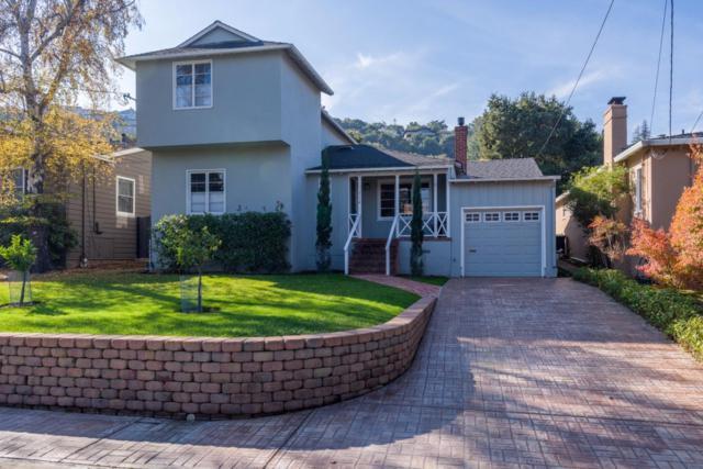 712 Tamarack Ave, San Carlos, CA 94070 (#ML81685800) :: The Gilmartin Group