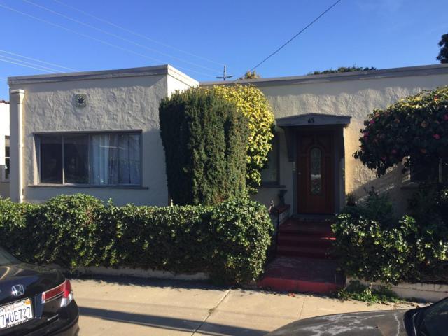 43 Ocean Ave, Monterey, CA 93940 (#ML81686931) :: The Goss Real Estate Group, Keller Williams Bay Area Estates
