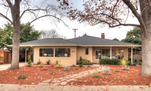 1815 Hamilton Ave, Palo Alto, CA 94303 (#ML81689101) :: Brett Jennings Real Estate Experts