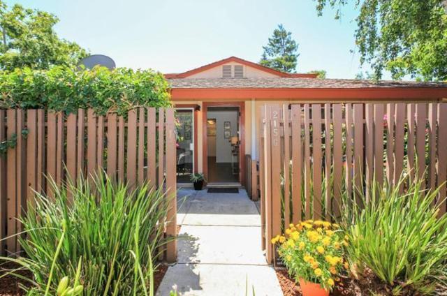 215 W Red Oak Dr Q, Sunnyvale, CA 94086 (#ML81692702) :: Astute Realty Inc
