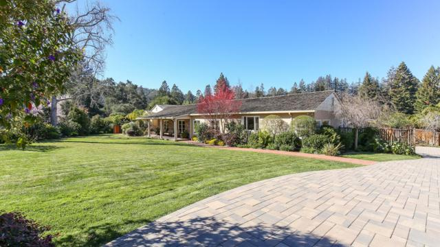 2140 Redington Rd, Hillsborough, CA 94010 (#ML81693467) :: The Gilmartin Group