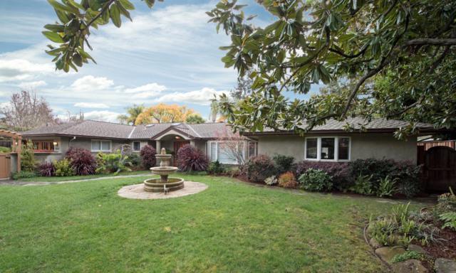 1425 Valparaiso Ave, Menlo Park, CA 94025 (#ML81696412) :: Brett Jennings Real Estate Experts