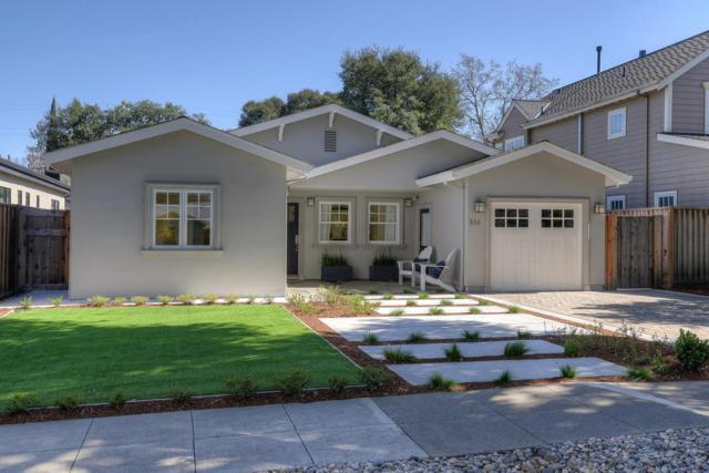 510 Laurel Ave, Menlo Park, CA 94025 (#ML81696505) :: Brett Jennings Real Estate Experts