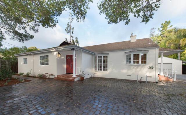1828 Valparaiso Ave, Menlo Park, CA 94025 (#ML81696651) :: Brett Jennings Real Estate Experts