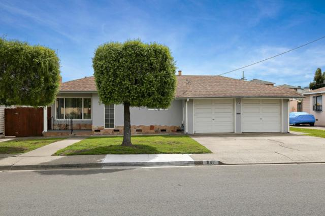 941 Santa Lucia Ave, San Bruno, CA 94066 (#ML81697426) :: The Dale Warfel Real Estate Network