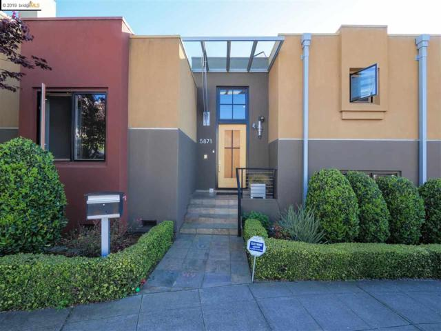 5871 Buena Vista Ave, Oakland, CA 94618 (#EB40860151) :: The Warfel Gardin Group