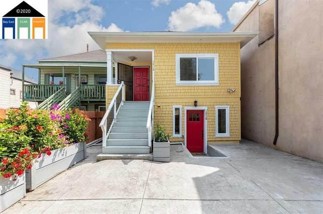 1512 Campbell Street, Oakland, CA 94607 (#MR40920864) :: The Realty Society