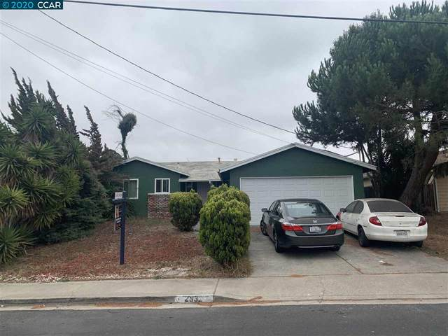 2832 Sargent Ave, San Pablo, CA 94806 (#CC40922134) :: The Realty Society