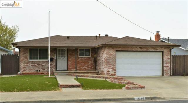 1536 Marshall St, Antioch, CA 94509 (#EB40927716) :: The Gilmartin Group