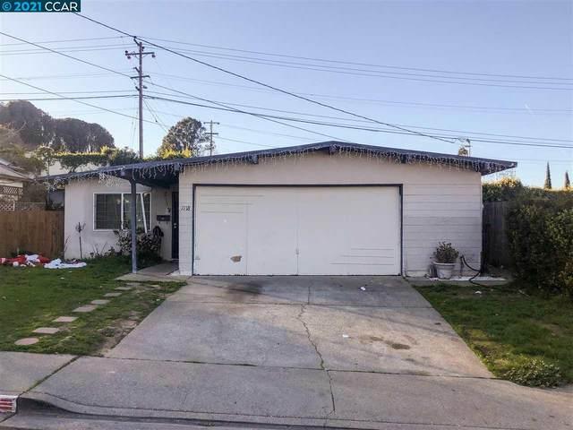 1118 Rising Glen Rd, Pinole, CA 94564 (MLS #CC40934735) :: Compass