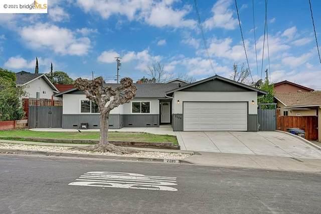 2289 Panoramic Dr, Concord, CA 94520 (#EB40937094) :: Schneider Estates