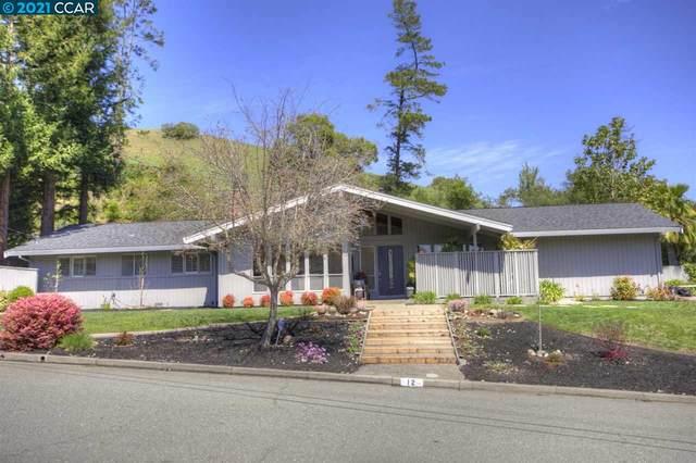 12 Lynwood Pl, Moraga, CA 94556 (#CC40944673) :: The Realty Society