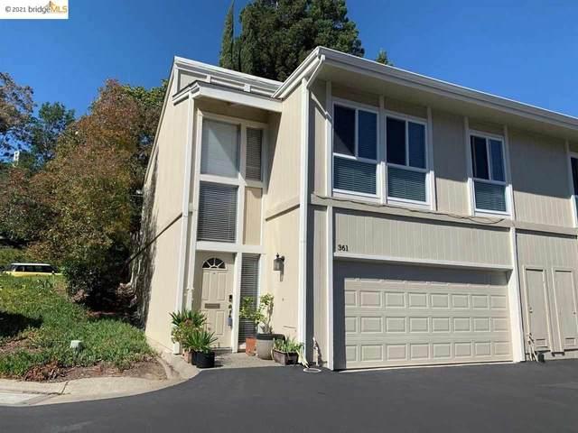 361 Ridgeview Dr, Pleasant Hill, CA 94523 (#EB40951054) :: Strock Real Estate