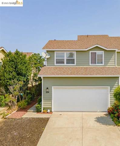 224 Clearpointe Dr, Vallejo, CA 94591 (#EB40959411) :: The Gilmartin Group