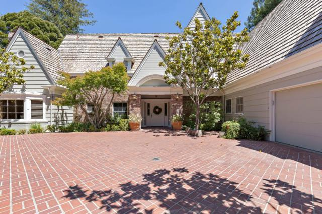 35 Aster Ave, Hillsborough, CA 94010 (#ML81710410) :: The Kulda Real Estate Group