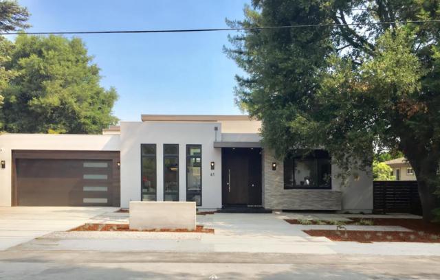 41 Jordan Ave, Los Altos, CA 94022 (#ML81717308) :: The Kulda Real Estate Group