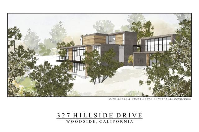 327 Hillside Dr, Woodside, CA 94062 (#ML81727646) :: The Kulda Real Estate Group