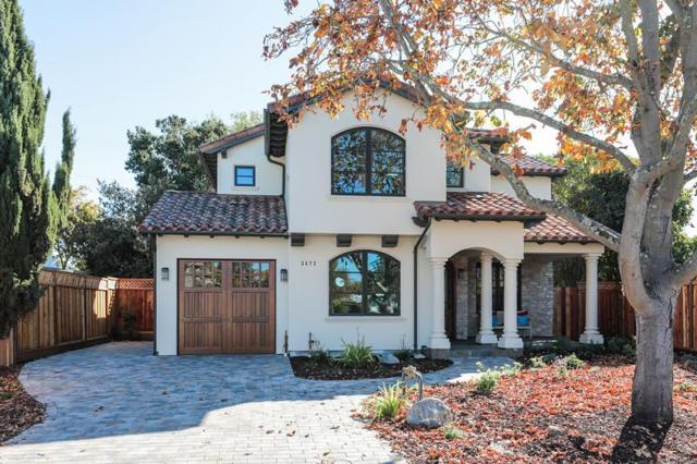 3472 Cowper Ct, Palo Alto, CA 94306 (#ML81727980) :: The Kulda Real Estate Group