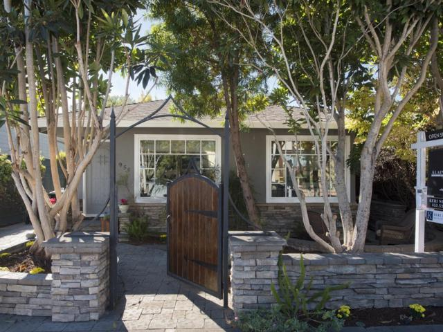 955 Evelyn St, Menlo Park, CA 94025 (#ML81729190) :: The Warfel Gardin Group