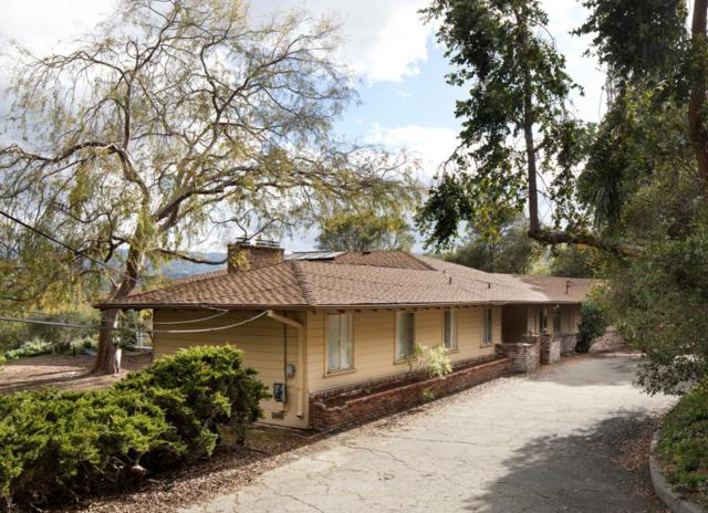 100 Alamos Rd, Portola Valley, CA 94028 (#ML81737488) :: The Gilmartin Group