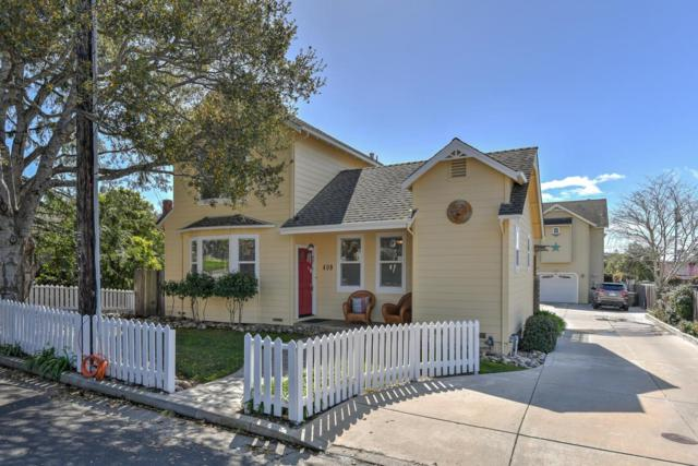 409 Pine St, Capitola, CA 95010 (#ML81742122) :: The Kulda Real Estate Group