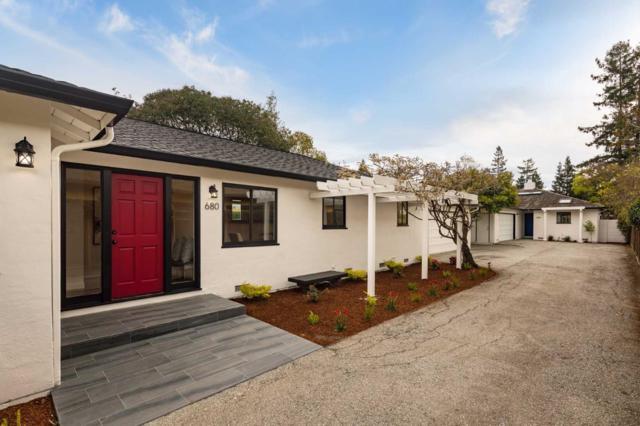 680 & 684 Loma Verde Ave, Palo Alto, CA 94306 (#ML81745319) :: The Kulda Real Estate Group