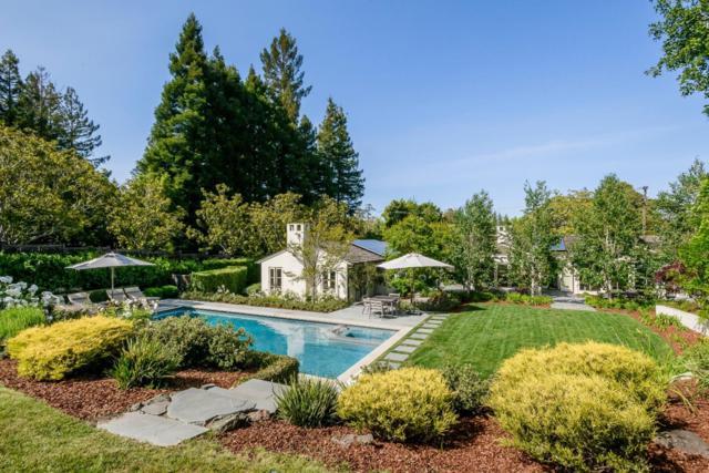 729 Eucalyptus Ave, Hillsborough, CA 94010 (#ML81752495) :: Strock Real Estate