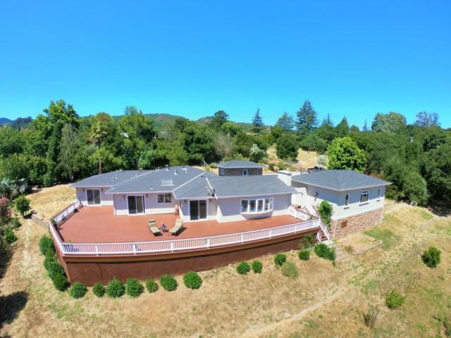 21851 Via Regina, Saratoga, CA 95070 (#ML81760723) :: The Warfel Gardin Group
