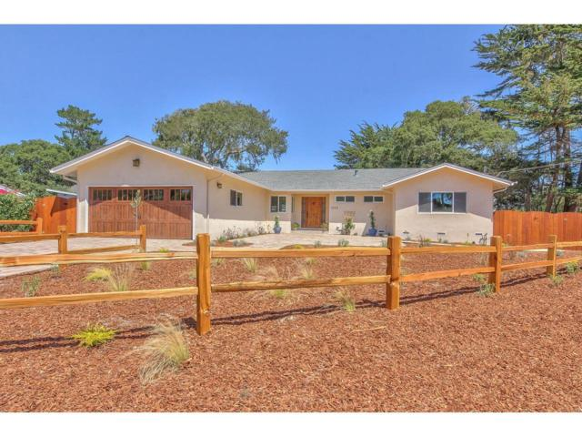 1053 Sombrero Rd, Pebble Beach, CA 93953 (#ML81764060) :: The Sean Cooper Real Estate Group