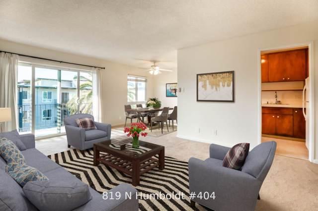 819 N Humboldt St 404, San Mateo, CA 94401 (#ML81768668) :: The Goss Real Estate Group, Keller Williams Bay Area Estates