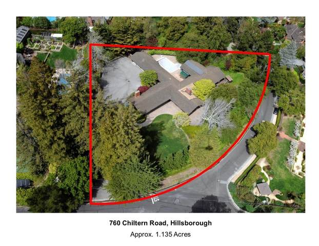 760 Chiltern Rd, Hillsborough, CA 94010 (#ML81813783) :: The Kulda Real Estate Group