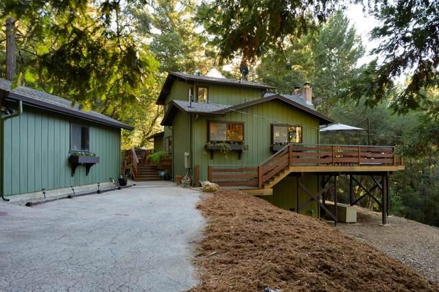 306 Hawks Hill Rd, Scotts Valley, CA 95066 (#ML81815684) :: Schneider Estates
