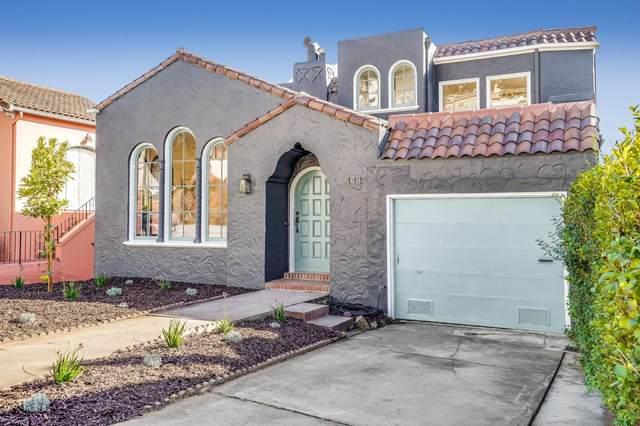 443 Hazelwood Ave, San Francisco, CA 94127 (#ML81818040) :: Robert Balina | Synergize Realty