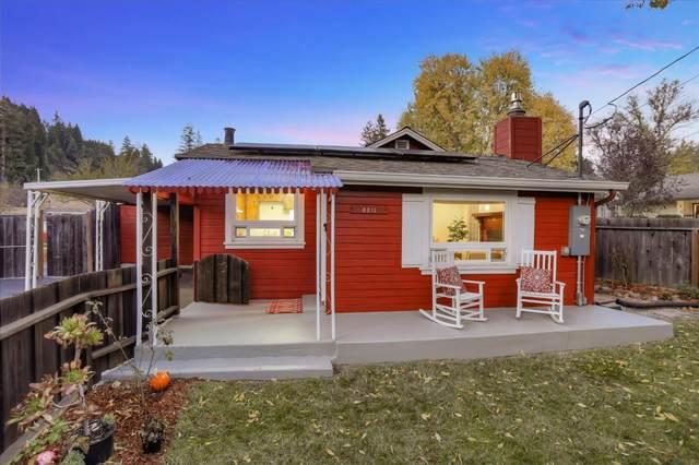 8211 Glen Arbor Rd, Ben Lomond, CA 95005 (#ML81821002) :: The Kulda Real Estate Group