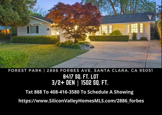 2886 Forbes Ave, Santa Clara, CA 95051 (MLS #ML81835121) :: Compass