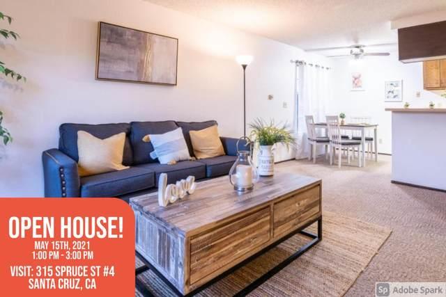 315 Spruce St 4, Santa Cruz, CA 95060 (#ML81843546) :: Schneider Estates