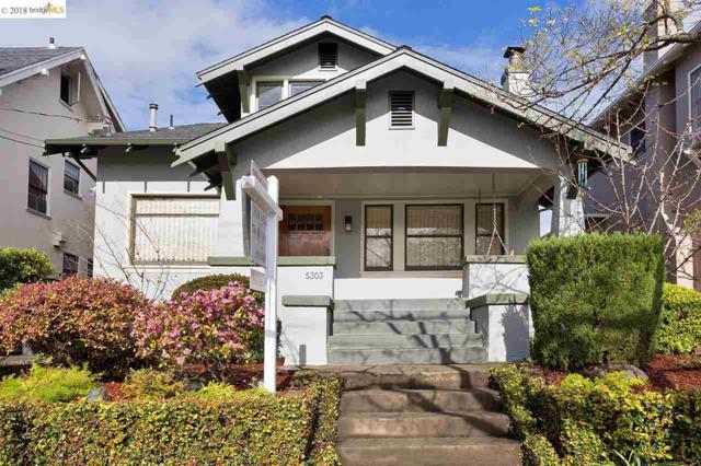 5303 Lawton Ave, Oakland, CA 94618 (#EB40813724) :: Astute Realty Inc