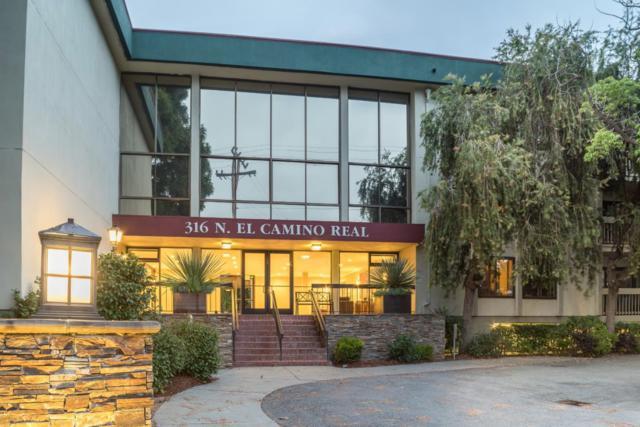 316 N El Camino Real 205, San Mateo, CA 94401 (#ML81667563) :: Carrington Real Estate Services