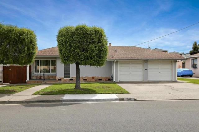 941 Santa Lucia Ave, San Bruno, CA 94066 (#ML81697426) :: The Gilmartin Group