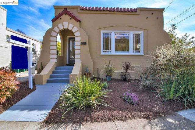 1618 Jaynes St, Berkeley, CA 94703 (#EB40840033) :: The Goss Real Estate Group, Keller Williams Bay Area Estates