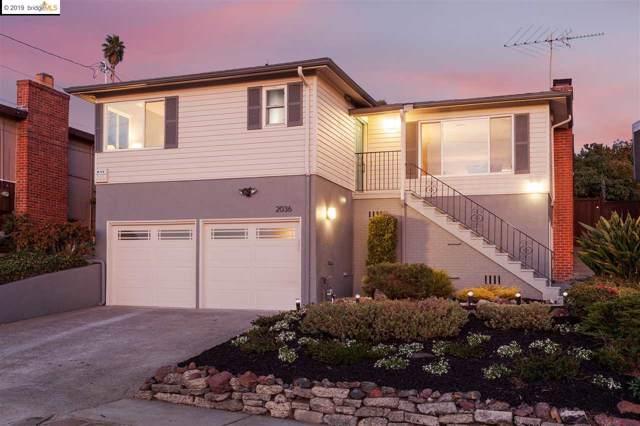2036 Mira Vista Dr, El Cerrito, CA 94530 (#EB40886087) :: Strock Real Estate