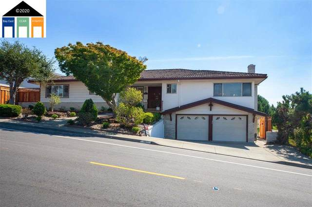 3571 Oakes Drive, Hayward, CA 94542 (#MR40922940) :: The Realty Society