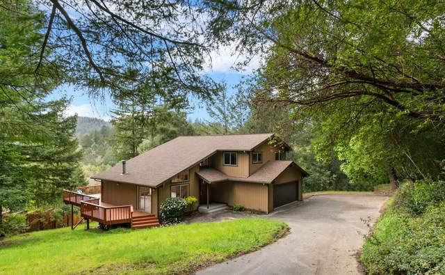 313 Alto Dr, Boulder Creek, CA 95006 (#ML81787145) :: The Goss Real Estate Group, Keller Williams Bay Area Estates