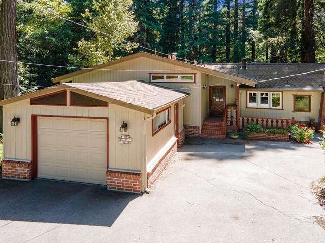 1525 Hillside Dr, Boulder Creek, CA 95006 (#ML81793489) :: Strock Real Estate