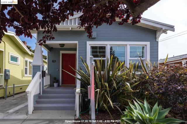 815 46Th St, Oakland, CA 94608 (#EB40873726) :: Strock Real Estate