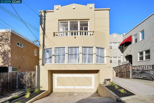 4213 Terrace St, Oakland, CA 94611 (#CC40887945) :: The Gilmartin Group